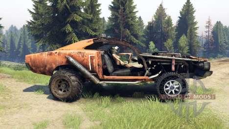 Dodge HL2 orange para Spin Tires