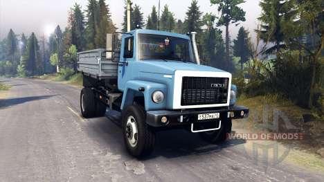 GAZ-3309 para Spin Tires