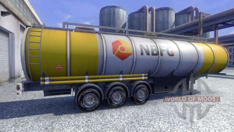 Bridgestone M730 para Euro Truck Simulator 2