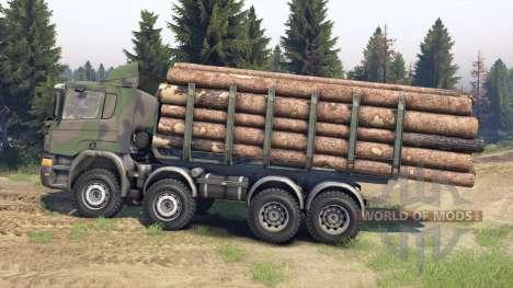 Scania Timber para Spin Tires