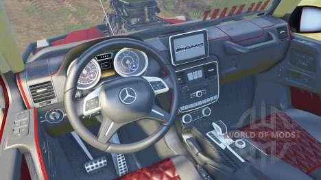 Mercedes-Benz G Bog Beast v2.0 para Spin Tires