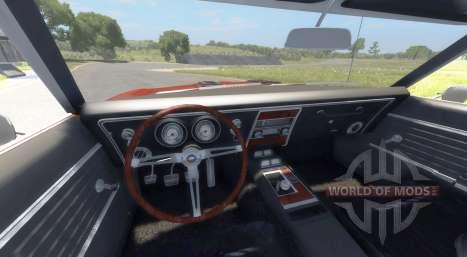 Chevrolet Camaro RS SS 396 1968 para BeamNG Drive