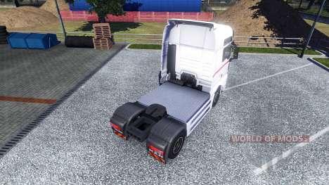La piel de las Ruedas de la Logística en el cami para Euro Truck Simulator 2