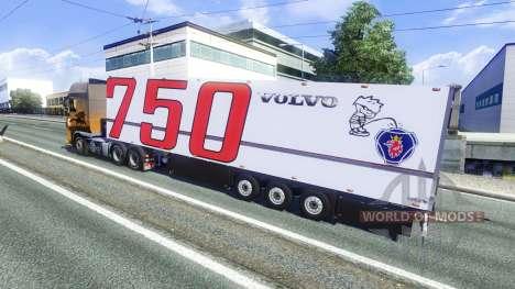 El Semi-Remolque Volvo para Euro Truck Simulator 2