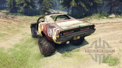 Dodge HL2 rusty2 para Spin Tires