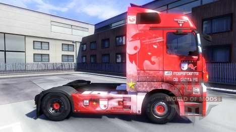 La piel de Santa Fe, en Colombia en el tractor M para Euro Truck Simulator 2
