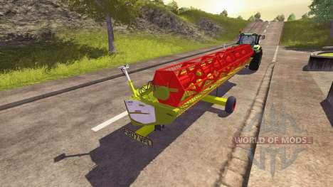Trailer de la cosechadora CLAAS para Farming Simulator 2013