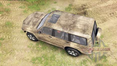 Nissan Patrol 2005 para Spin Tires