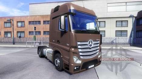 Mercedes-Benz Actros MPIV v1.3 para Euro Truck Simulator 2