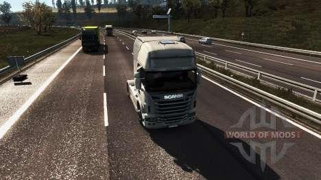 Gráficos realistas para Euro Truck Simulator 2