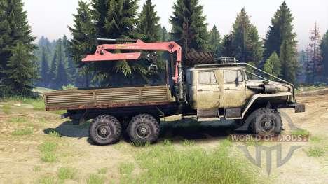 De los urales-4320-1982-40 para Spin Tires