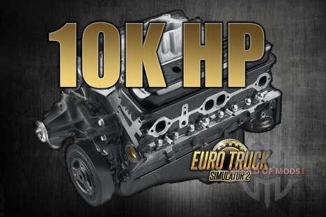 10K caballos de fuerza para Euro Truck Simulator 2