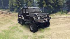 Mercedes-Benz G65 AMG 6x6 Final brilliant black