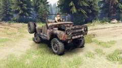 UAZ-469 oxidado