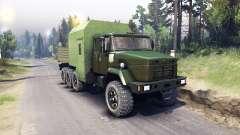 KrAZ-7140 verde