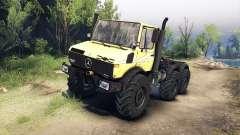 Mercedes-Benz Unimog U1500L 6х6 amarillo