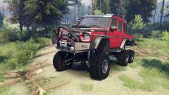 Mercedes-Benz G65 AMG 6x6 Final lemans red