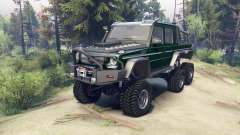 Mercedes-Benz G65 AMG 6x6 Final dark green