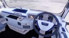 Interior de la nueva tractores HOMBRE