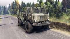 GAZ-66 para Spin Tires