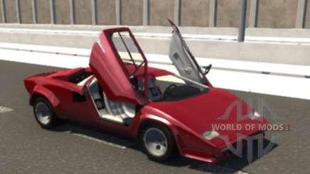 Lamborghini Countach para BeamNG Drive