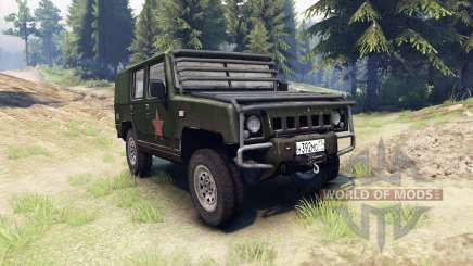 BAW Brave Warrior v1.1 para Spin Tires