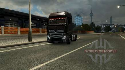Mercedes Actros MPIV para Euro Truck Simulator 2