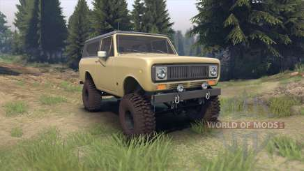 International Scout II 1977 elk para Spin Tires