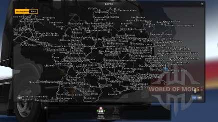 Mapa Brasil Total 4.2 [BUS VERSION] para Euro Truck Simulator 2