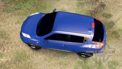 Nissan Juke para Spin Tires