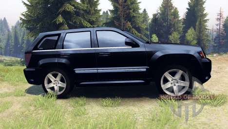 Jeep Grand Cherokee SRT-8 2009 para Spin Tires