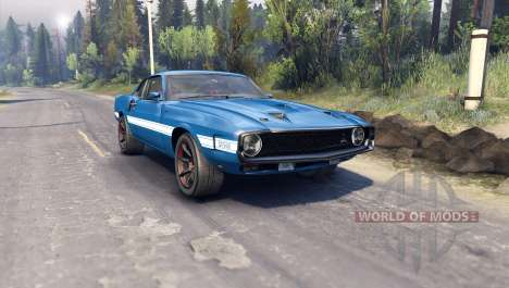 Ford Shelby GT500 para Spin Tires