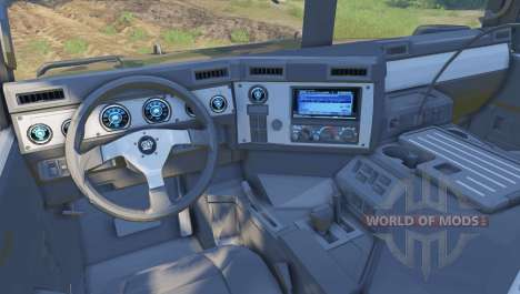 Hummer H1 camo para Spin Tires