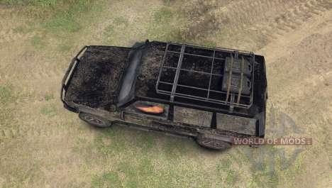Jeep Cherokee para Spin Tires