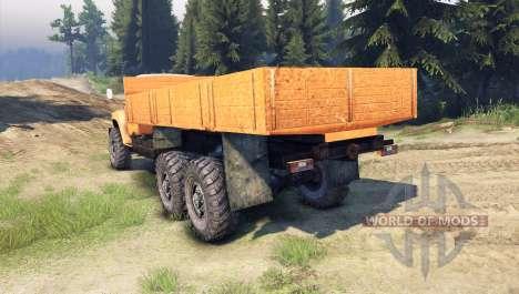ZIL-133 GYA para Spin Tires