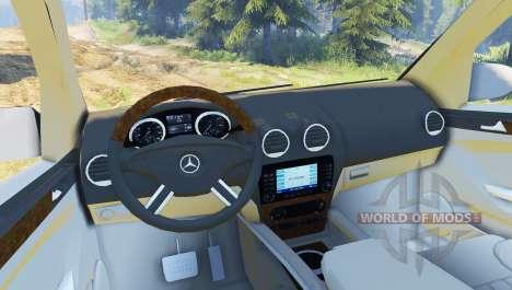 Mercedes-Benz GL 500 para Spin Tires