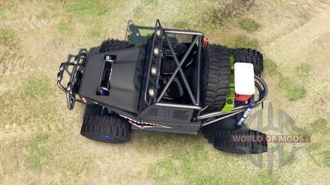 Toyota Land Cruiser Krawler para Spin Tires