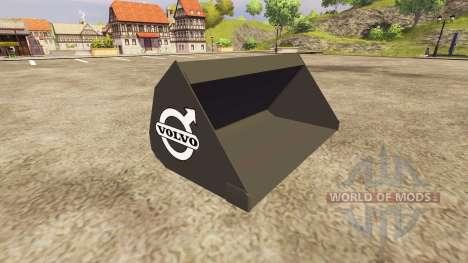 Cubo y horquillas de Volvo para Farming Simulator 2013
