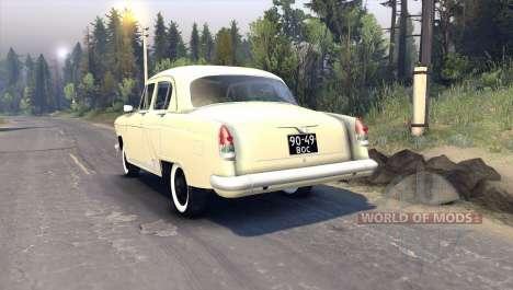 GAZ-21 para Spin Tires