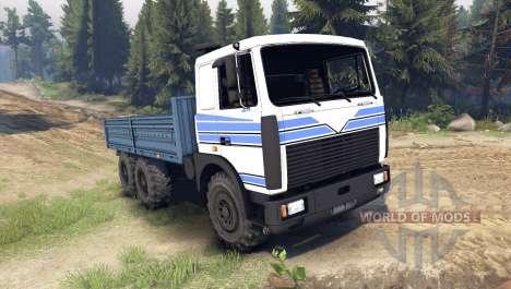 MAZ-642208 para Spin Tires