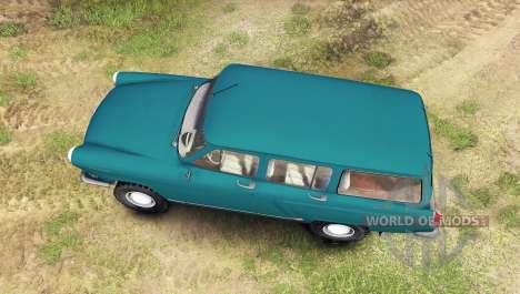 GAZ-22 para Spin Tires