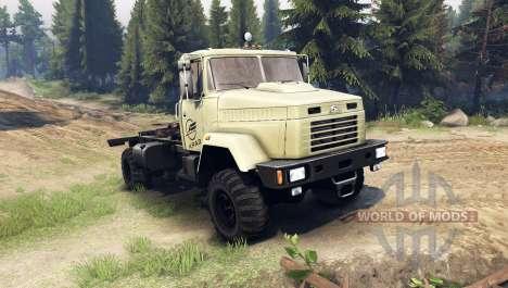 Kraz-5133 para Spin Tires
