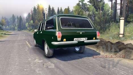 GAZ-24-12 para Spin Tires