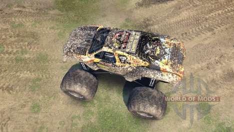 Monster Maximus para Spin Tires