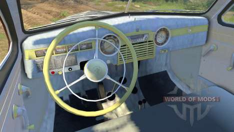 GAZ M-72 para Spin Tires