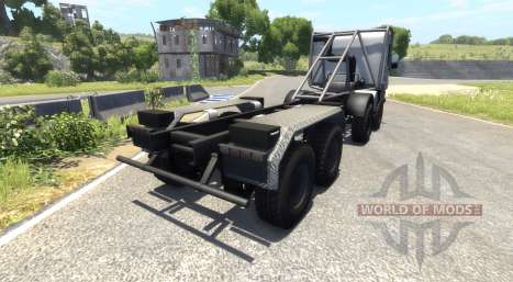 Scania 8x8 heavy utility truck para BeamNG Drive