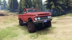 Chevrolet С-10 1966 Personalizado azteca de bron
