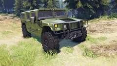 Hummer H1 green