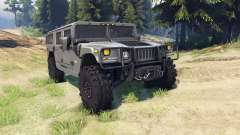 Hummer H1 army grey