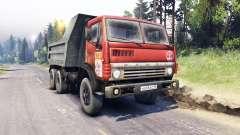 KamAZ-5511 blanco de celosía
